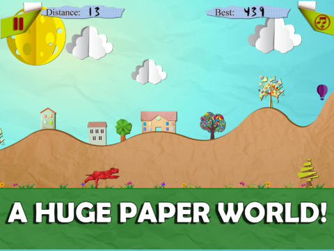 Origami Dog World screenshot 2