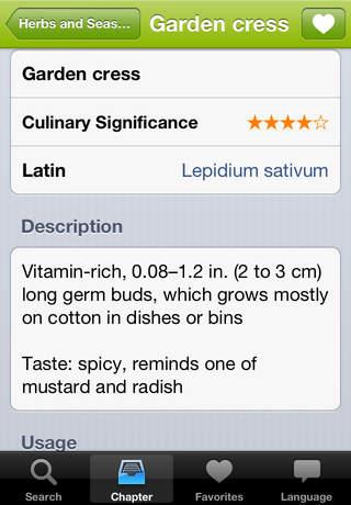 Food Guide screenshot 4