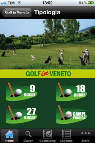 Golf in Veneto - náhled