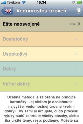 Jazykový tréner screenshot 1
