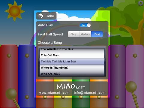 Kids Fruit Xylophone Lite screenshot 6