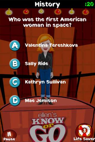 Ellen's Know or Go screenshot 3
