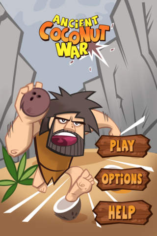 Ancient Coconut War Lite screenshot 1