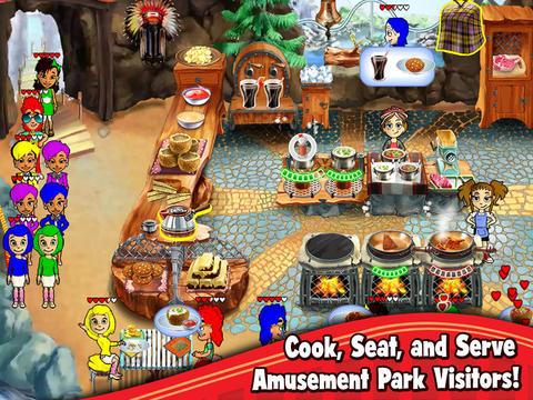 Cooking Dash: Thrills and Spills screenshot 5