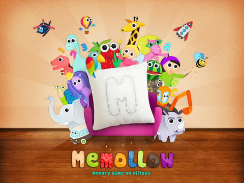 Memollow - Memory Game on Pillows for Kids - náhled