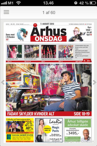 Århus Onsdag Digital Avis - náhled