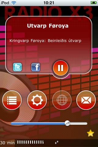 X3 Faroe Islands Radio screenshot 1
