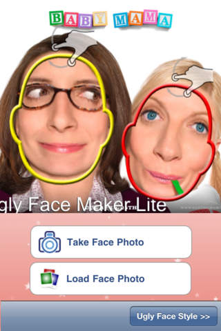 Ugly Face Maker Lite screenshot 1