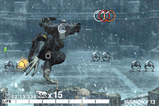 METAL GEAR SOLID TOUCH (US) screenshot 1