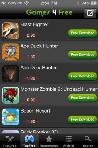 Games 4 Free (Paid Games 4 Free) screenshot 2