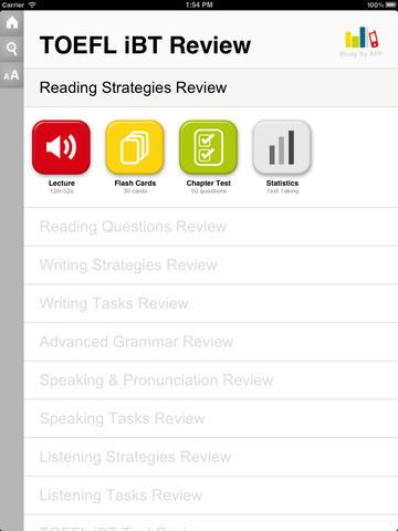 TOEFL iBT for iPad - náhled