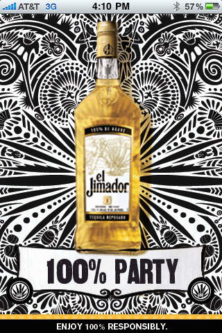 el Jimador Party Planner screenshot 1