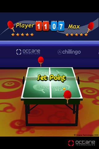 iPingpong 3D screenshot #1