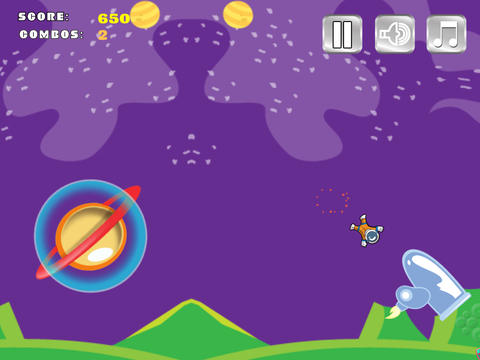 Bouncy Astronaut Lite screenshot 10
