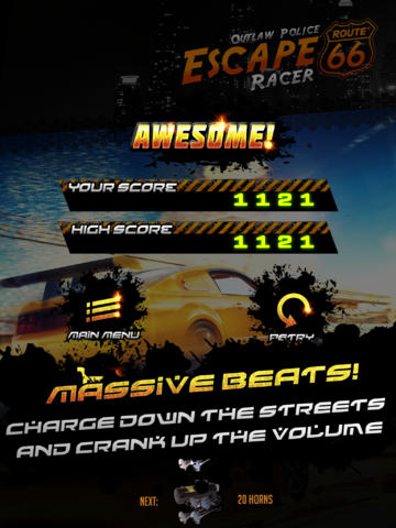 Police Escape Outlaw Racer Free screenshot 8
