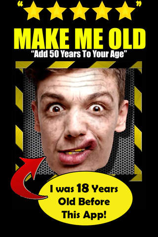Make Me Old Pro : Photo editing and effects screenshot 1