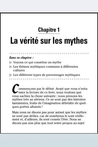 La Mythologie Pour Les Nuls screenshot 3
