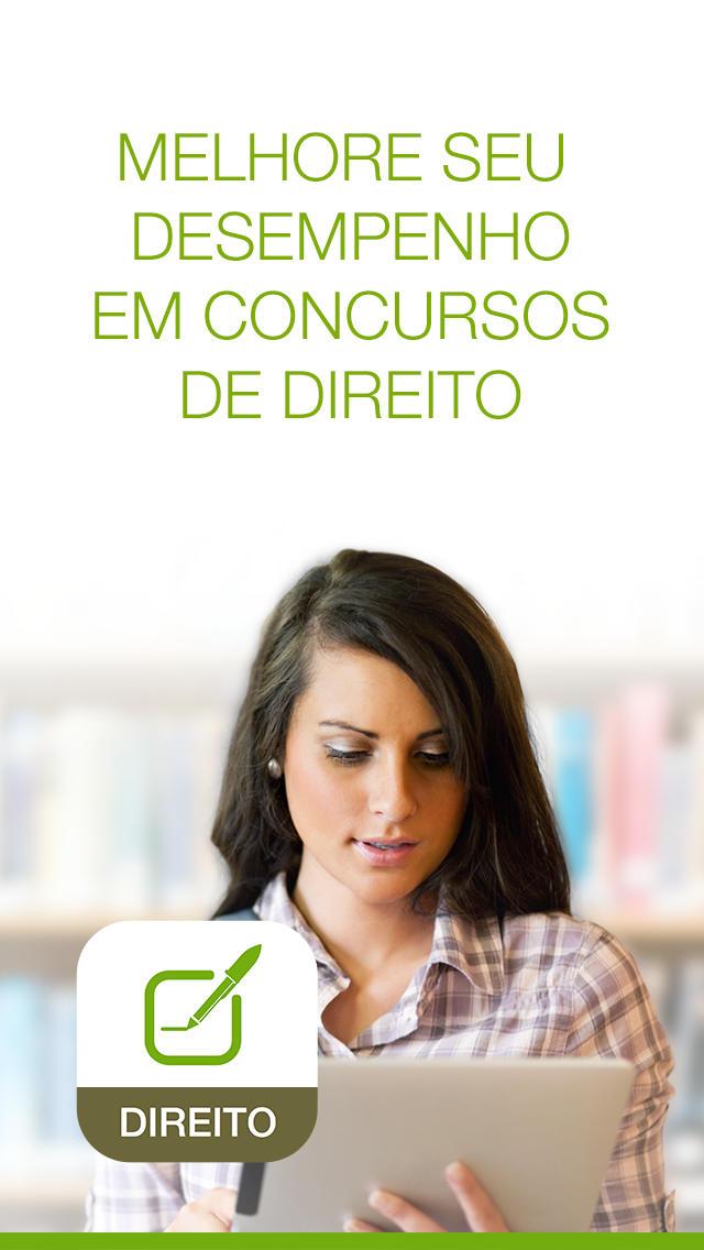 Direito Academix - Concursos Jurídicos, exames, notícias, agenda e simulados screenshot 1