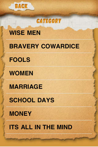 Fun Proverbs screenshot 2