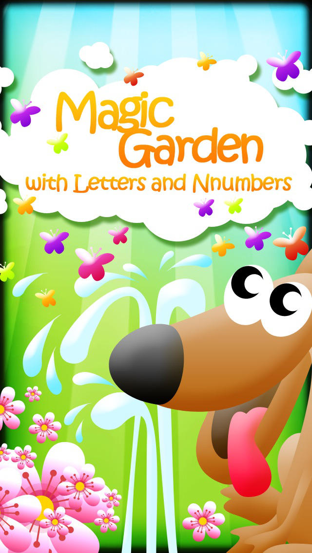 Magic Garden with Letters and Numbers - A Logical Game for Kids screenshot #5