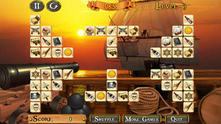 Pirate Ship Mahjong screenshot 2