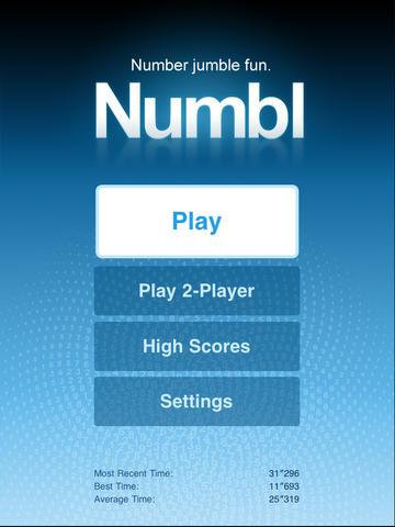 Numbl: Number jumble fun.™ for iPad screenshot 4