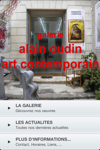 Alain Oudin Art Contemporain - náhled