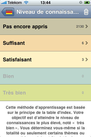 Coach linguistique screenshot 1