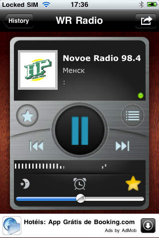 WR Belarus Radios screenshot 1