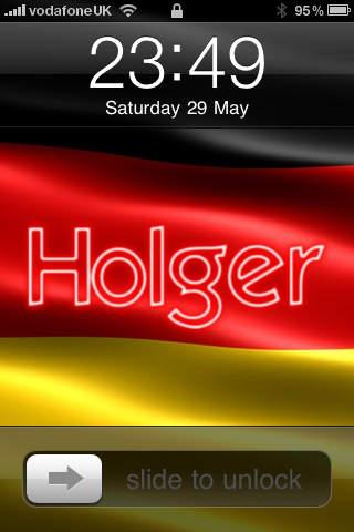 Deutsch Hintergrundbild screenshot 2