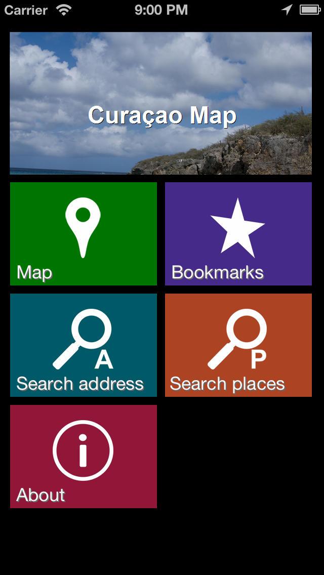 Offline Curacao Map - World Offline Maps screenshot 2