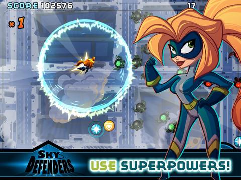 Sky Defenders screenshot 6
