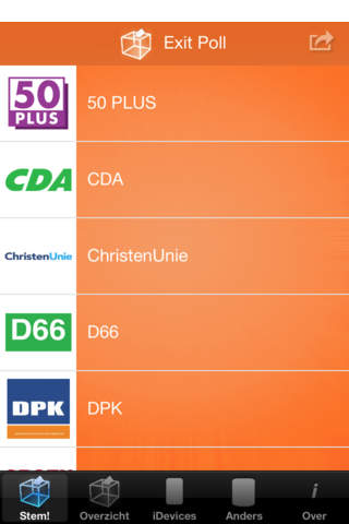 Exit Poll NL - náhled