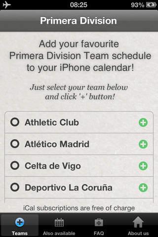 Primera División screenshot 2