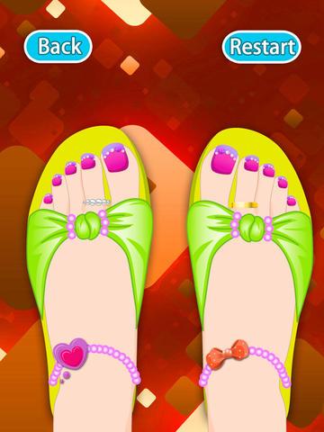 Dream Toes HD- Dress up games screenshot 4
