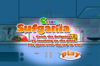 Catch the Sufgania - Donut Game screenshot 1