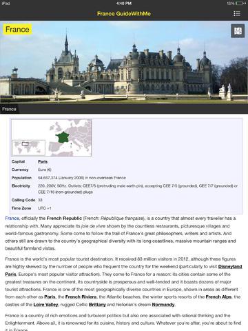 France Travel Guide Offline screenshot 6