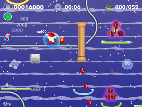 Blobster Christmas screenshot 7