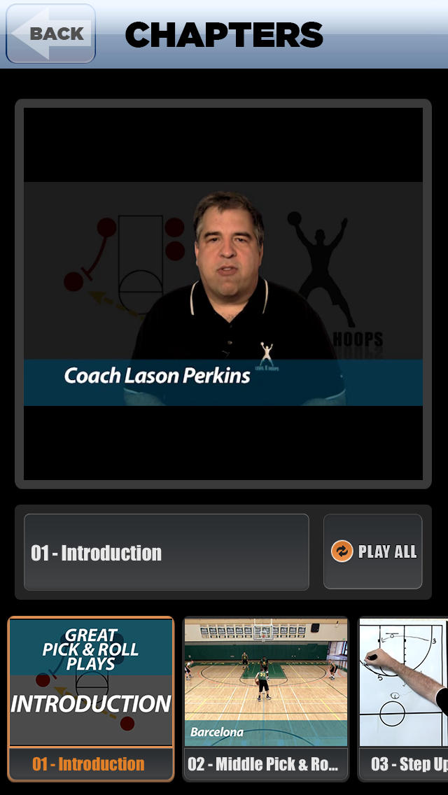 Great Pick & Roll Plays: Using Ball Screens For A Championship Offense - With Coach Lason Perkins - Full Court Basketball Training Instruction screenshot 2