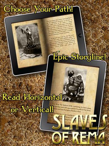 Gamebook Adventures 3: Slaves of Rema screenshot 7