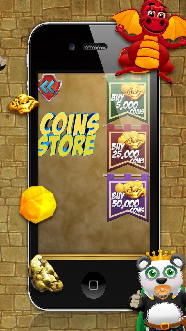 Baby Panda Bears Battle of The Gold Rush Kingdom HD - A Castle Jump Edition FREE Game! screenshot 5