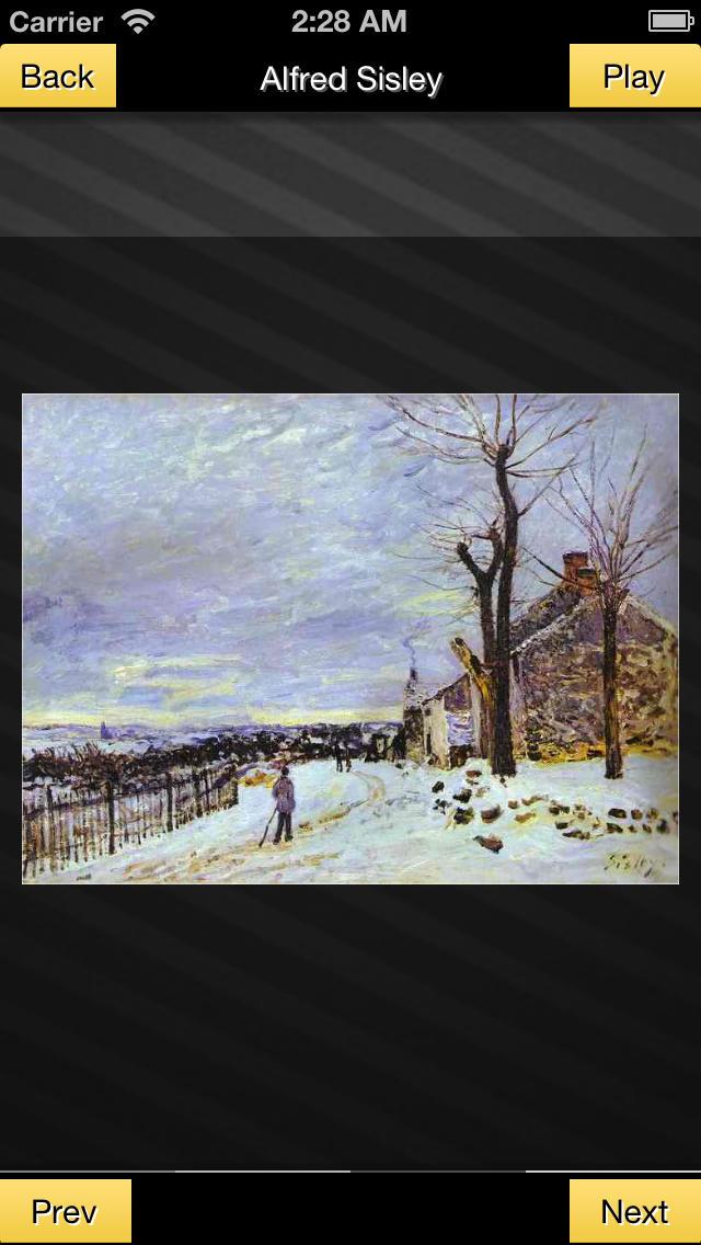 Alfred Sisley screenshot 2