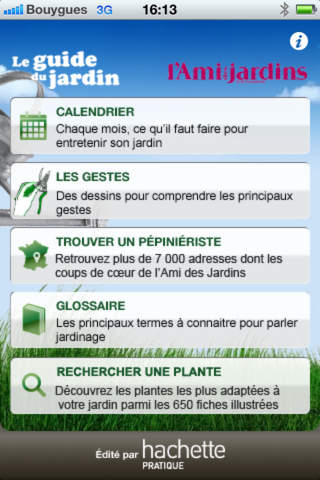 Guide du Jardin screenshot 4