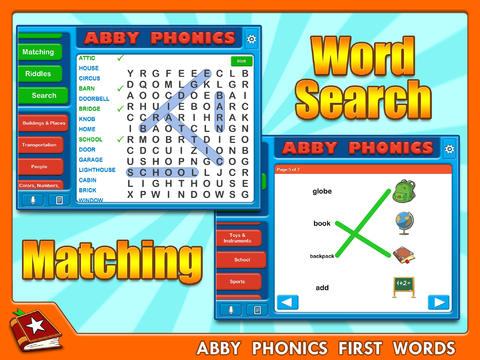 Abby Phonics - First Words HD Free screenshot 3