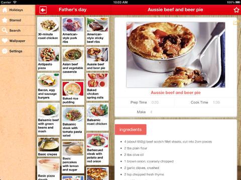Holiday Dinner Recipes screenshot 5