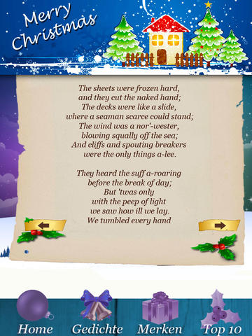 222 Holiday & Christmas Poems screenshot 10