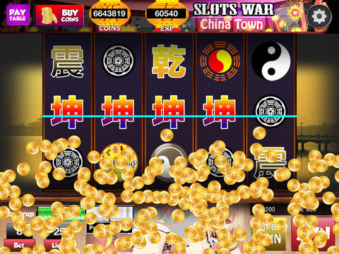 Slots – King of China Town HD screenshot 3