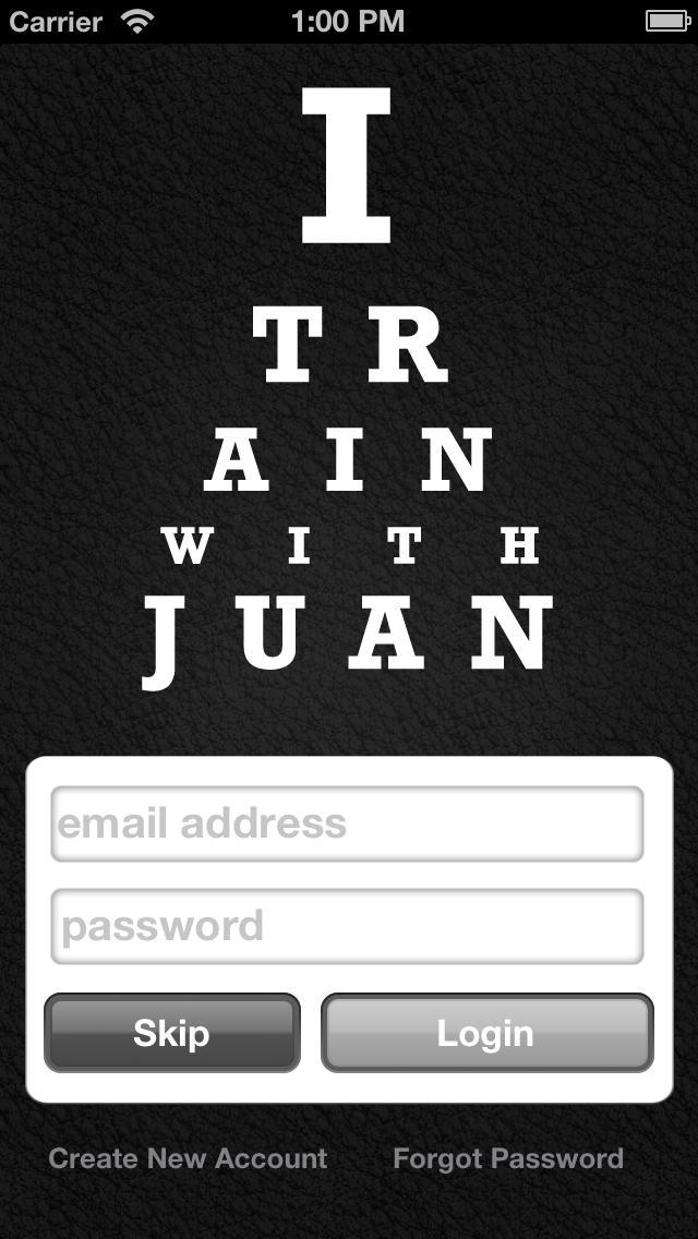 I Train With Juan screenshot #2