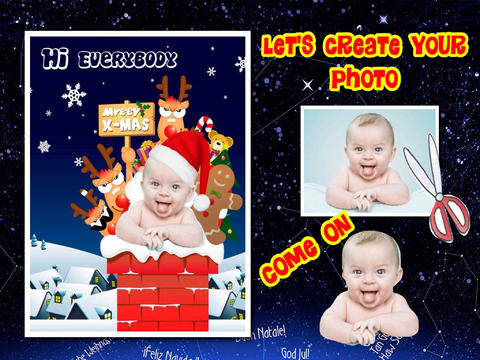Christmas Photo Collage (HD) screenshot 6
