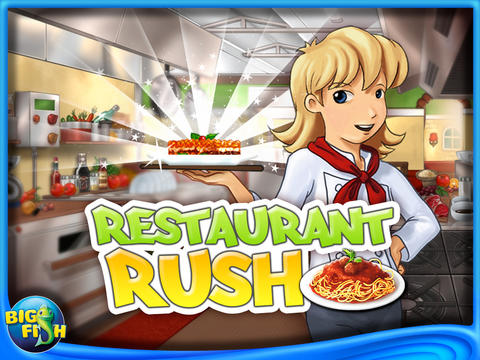 Restaurant Rush HD screenshot 1